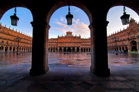 Plaza Major, Salamanca, Spain